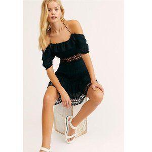 Free People Cruel Intentions Crochet-Lace Dress. 2